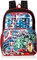 Marvel Boys' Avengers 16 Inch Cargo Backpack