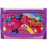 Dreamworks Trolls Poppy /& Friends Children Girll/'s Tri Fold Wallet Favor Gift