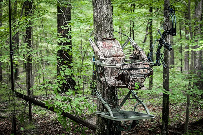 Summit Treestands Viper SD Climbing Treestand, Mossy Oak