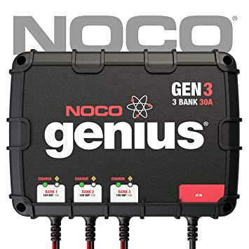 NOCO Genius Gen1 10 Amp 1-Bank Impermeable Inteligente a ...