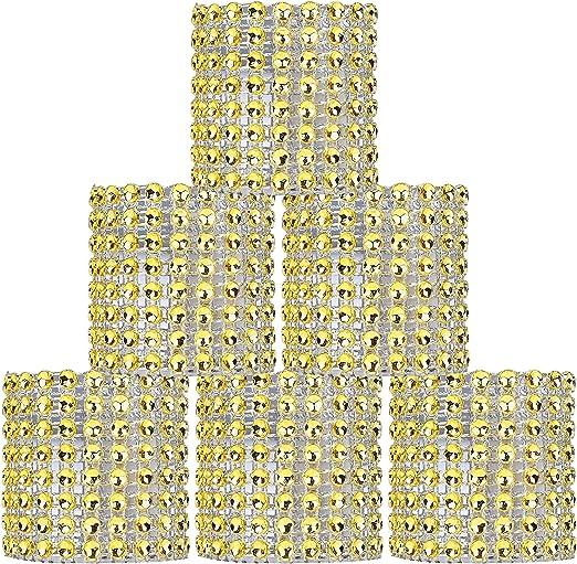 TOPBATHY Servilleteros Anillos Servilleta Hebillas Decoraciones de Mesa de Comedor Redonda Suministros para la Fiesta de cumplea/ños de Boda Suministros Decoraci/ón de Mesa Plata
