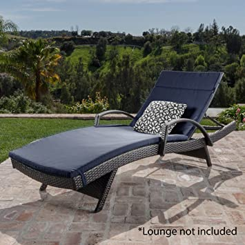 Christopher Knight Home 633 Salem Chaise Outdoor Lounge (Set Of 2)