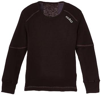Odlo Suw Top Crew Neck L/S Active Originals X Camiseta, Niños, Negro