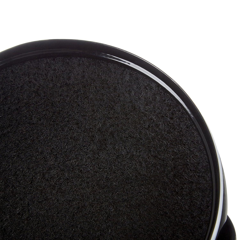 Black Compost Bin W//handle 14.5 Dia X 20cm H