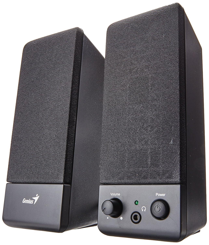 Logitech 980 000012 s120 2 piece black desktop computer speaker set - Genius Sp S110 Basic Speaker System Black Amazon Ca Computers Tablets