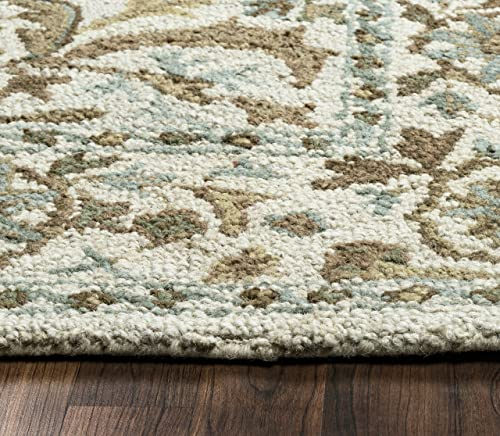 Rizzy Home Ashlyn Collection Wool Area Rug