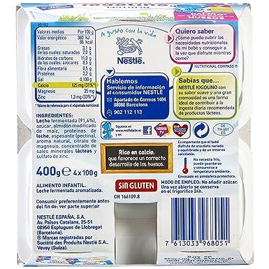 Nestlé iogolino - Natural - A Partir de 6 Meses 4 x 100 g - Pack de 3: Amazon.es: Alimentación y bebidas