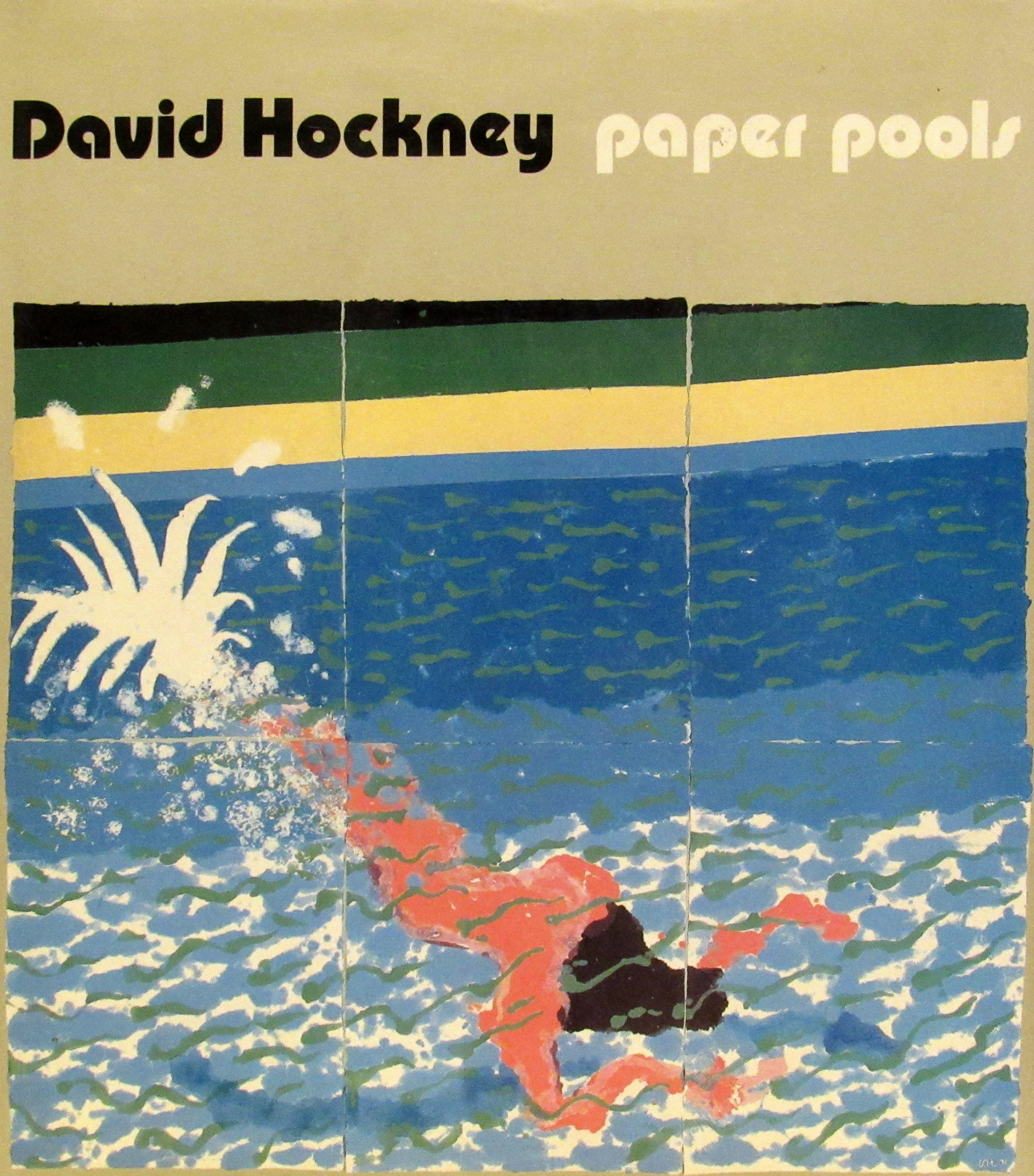 Favori Paper pools: David Hockney, Nikos Stangos: 9780810914612: Amazon  CA64
