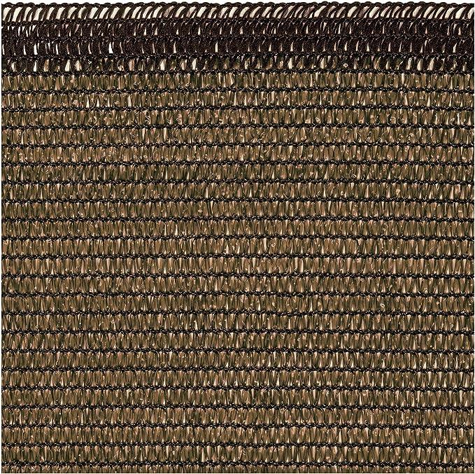 Tenax Malla Vista Oculta Opaca Soleado Corten 500 x 0,1 x 100 cm 1A150267: Amazon.es: Jardín