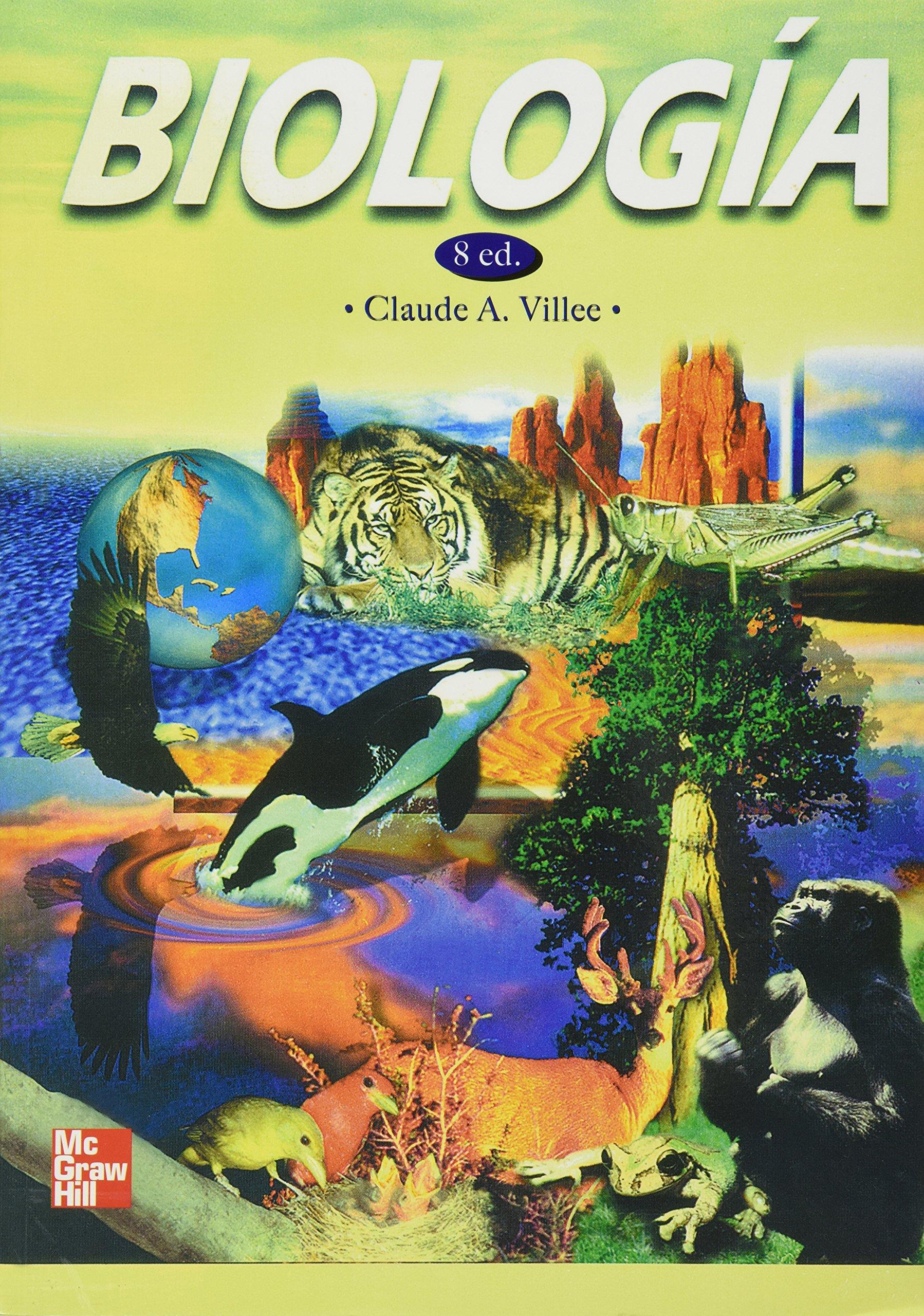 libro de biologia de villee