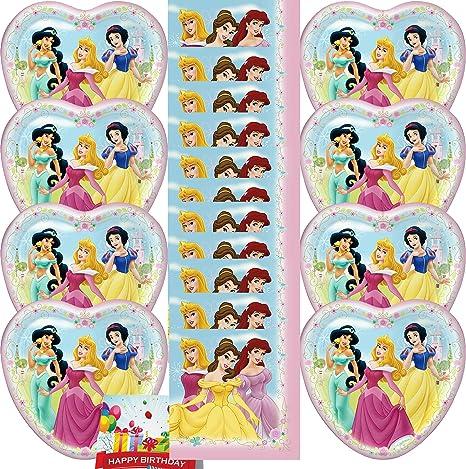 Amazon.com: Disney Princesa Niñas Fiesta de cumpleaños ...