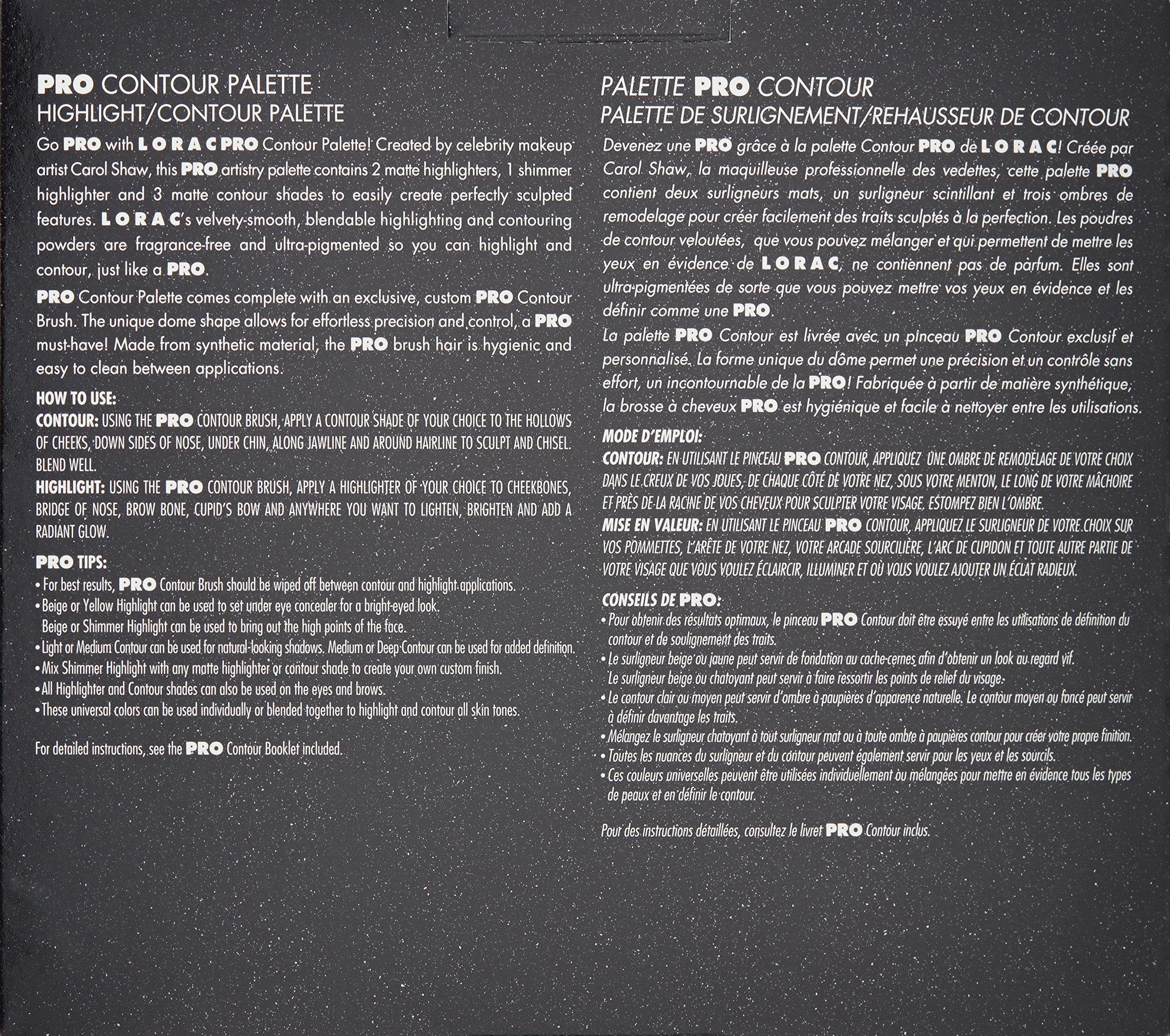 LORAC Pro Contour Palette Plus Contour Brush by LORAC (Image #3)