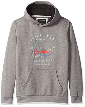 separation shoes f14a5 a175d Amazon.com  Quiksilver Boys  Big Banzai Bar Hood Youth Hoodie Jacket   Clothing