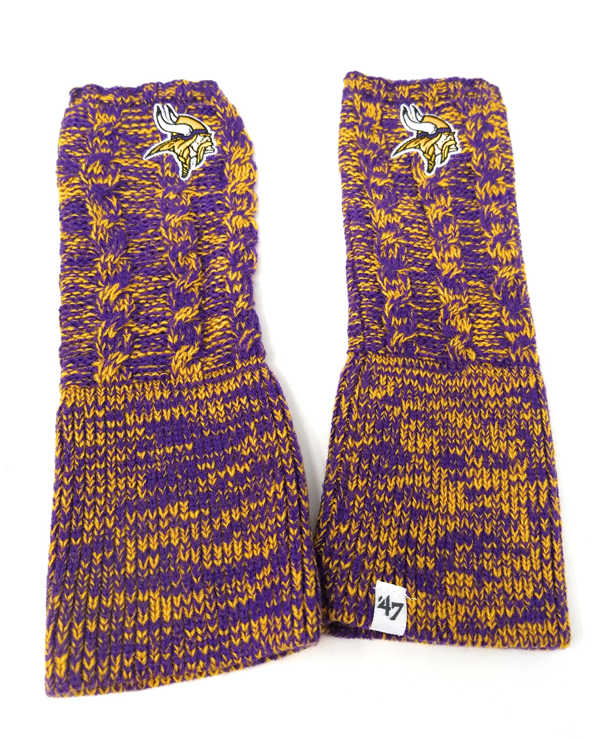 NFL '47 Brand Prima Arm Warmers (Minnesota Vikings)