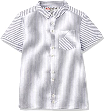 b2a6b3b707ca4 RED WAGON Ticking Stripe Shirt Camisa para Niños