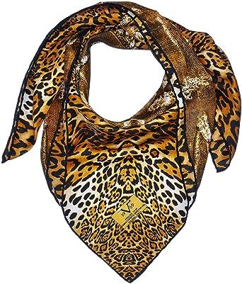 Inconnu 19V69 - Foulard - Femme Marron léopard taille unique  Amazon ... 3fca0c2fb65