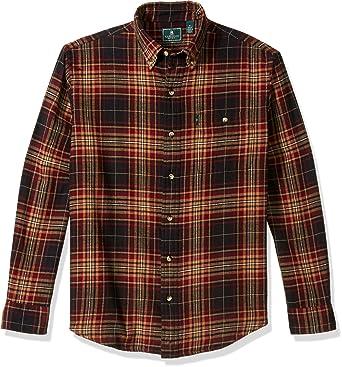 669a1c0e7a G.H. Bass & Co. Men's Fireside Flannels Long Sleeve Button Down Shirt