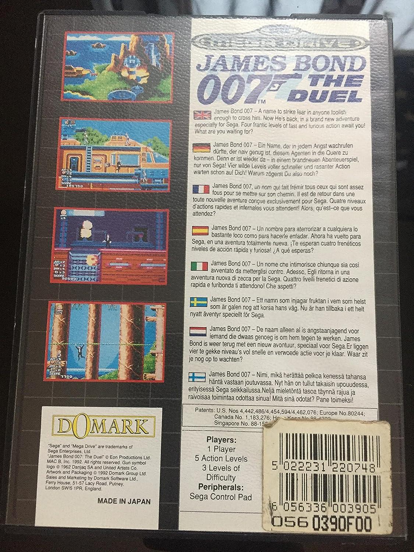 James Bond 007 The Duel Mega Drive Gebr Amazon De Games