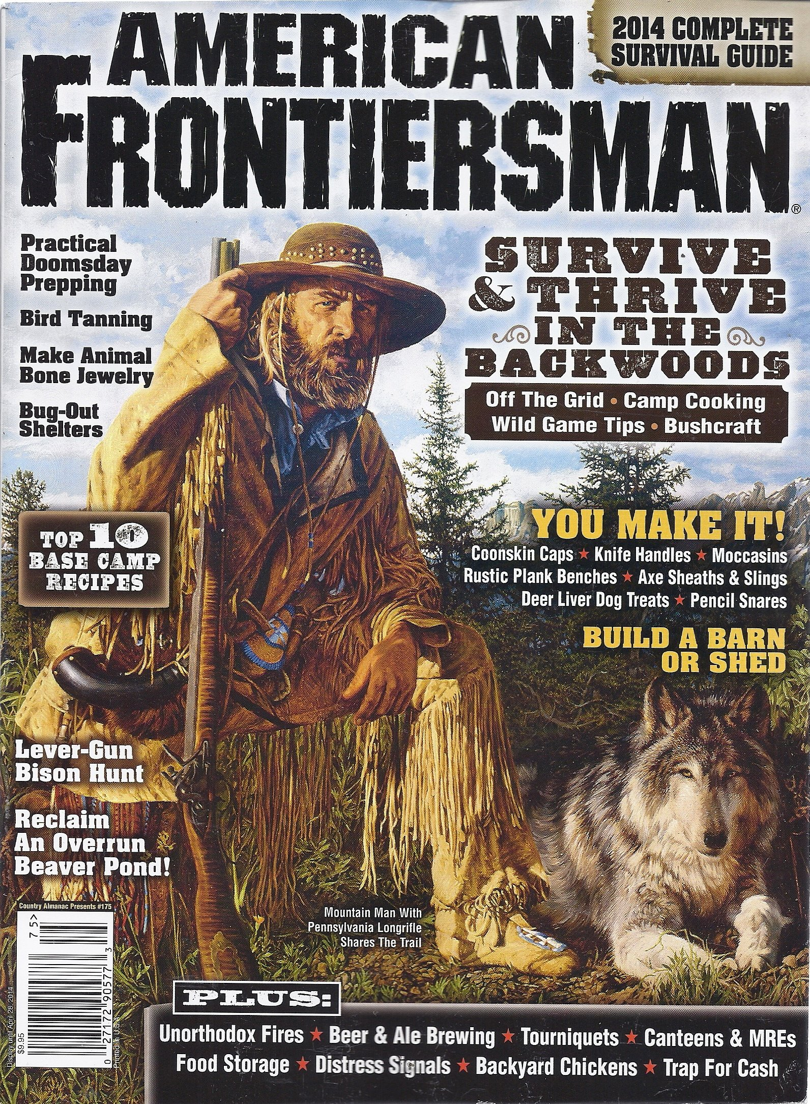American Frontiersman 2014 (Country Almanac Presents #175) Single Issue Magazine – 2013