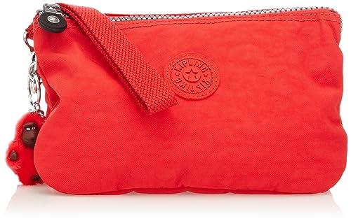 Kipling CREATIVITY XL - Cartera de mano con asa de material sintético para mujer: Amazon.es: Zapatos y complementos