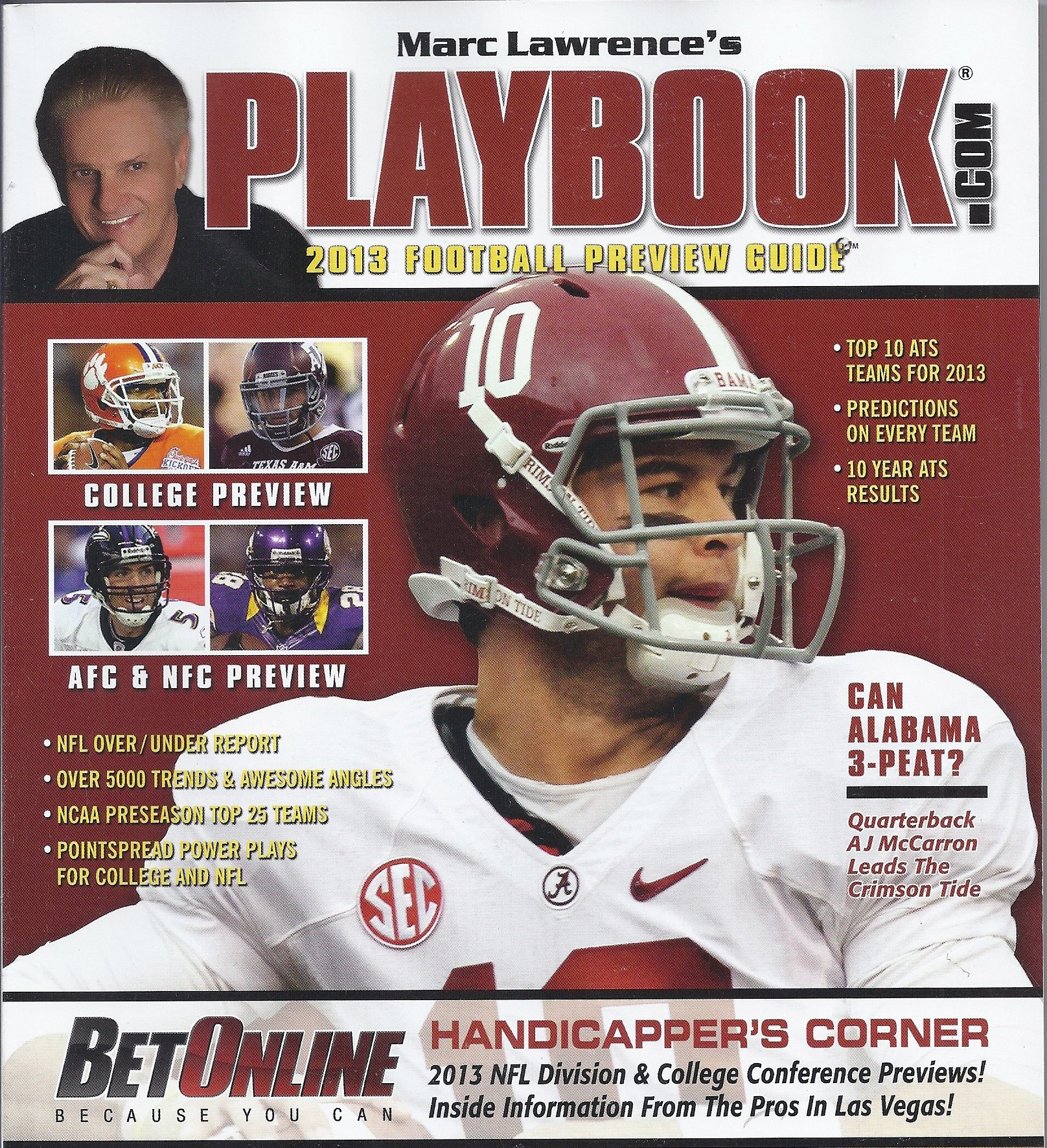 Marc lawrence playbook