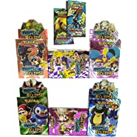 Pokemon Sun & Moon Cosmic Eclipse Cards with 2 VIP Cards (6 Packs) Assorted Models
