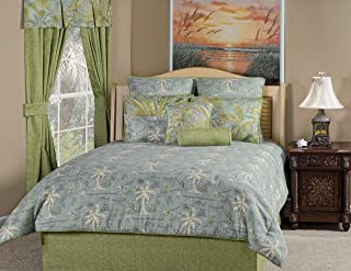 product image for Victor Mill Island Song Surf Comforter Set, King