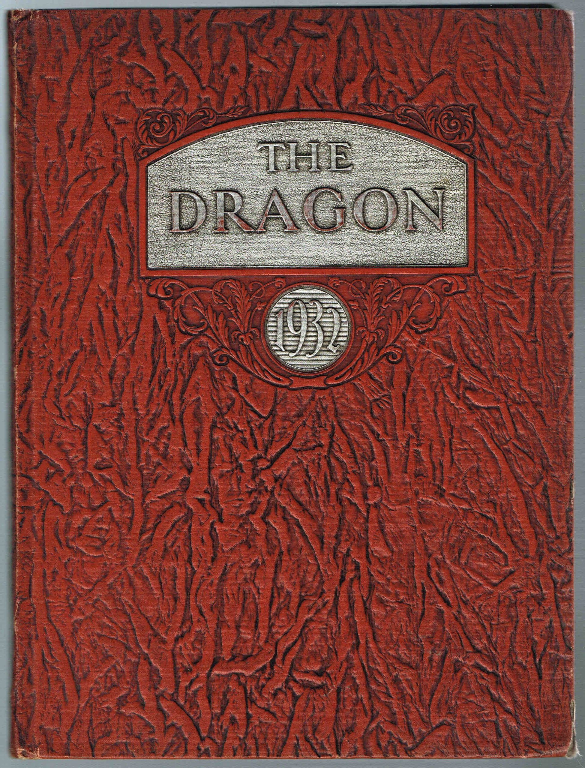 The Dragon 1932, Fairmont High School, Dayton, Ohio (Yearbook ...