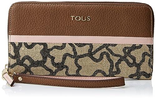 Tous Elice New Mediana, Cartera para Mujer, Multicolor (Marrón-Rosa), 2x11x19.5 cm (W x H x L): Amazon.es: Zapatos y complementos