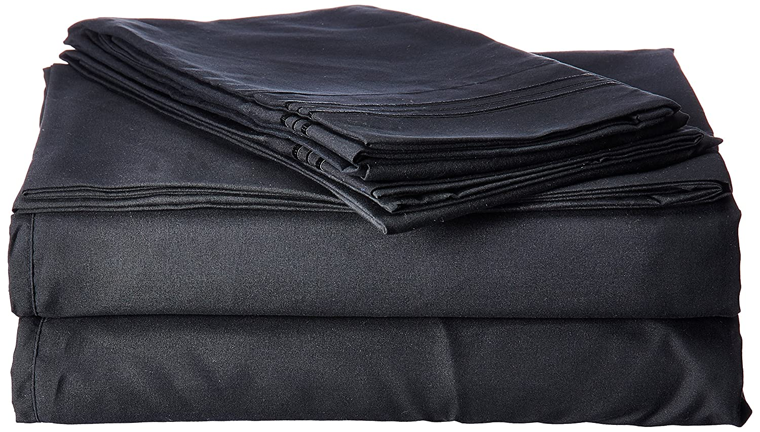 1500 Supreme Collection Extra Soft Queen Sheets Set, Black