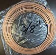 "3/8 in "" OD x 50 ft Copper Soft Roll / Tubing / Tube / Pipe Refrigeration ACR Type"