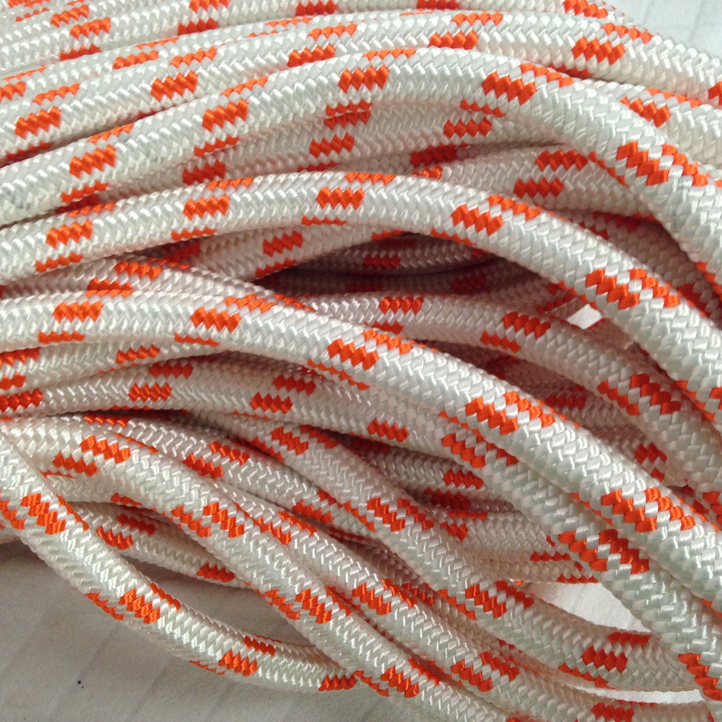 5/8'' By 200' Double Braided Polyester Arborist Bull Rope