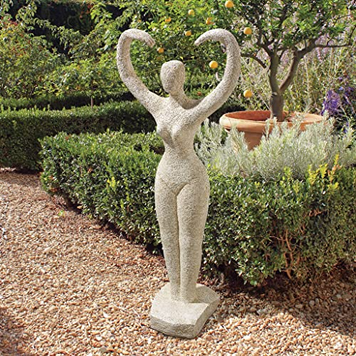 Design Toscano KY1466 Earth Goddess Garden Statue,Gothic Stone
