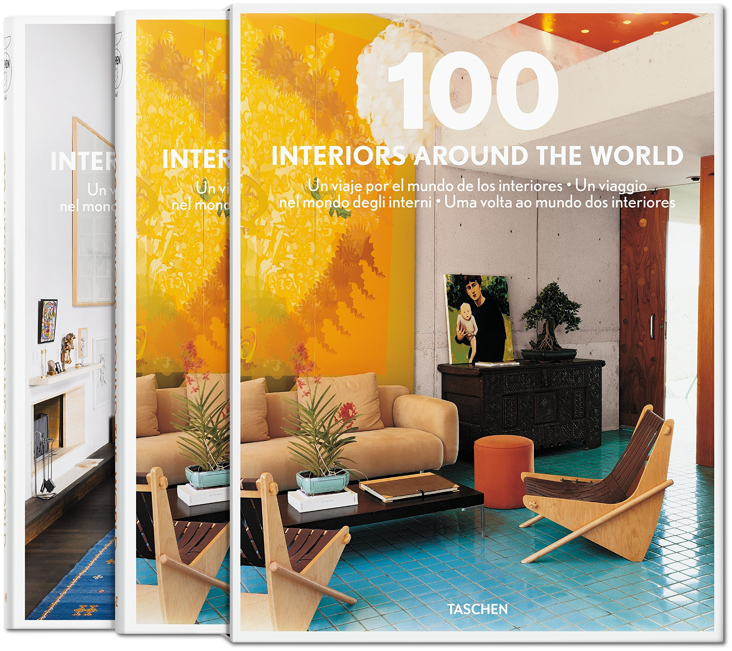 100 Interiors Around the World: 2 Volumes Interior Design: Amazon.de ...