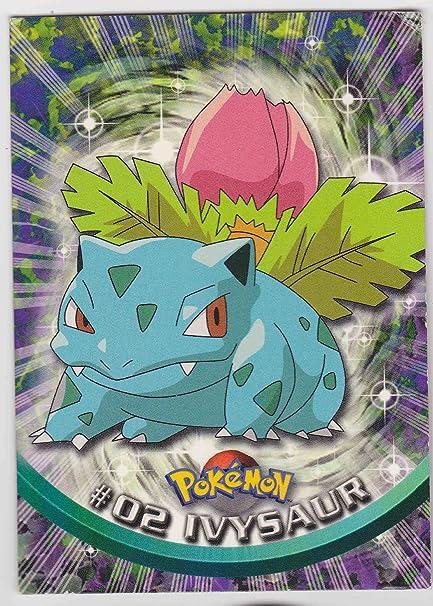 Amazon com: Pokemon Card - Ivysaur #02 - TV Animation