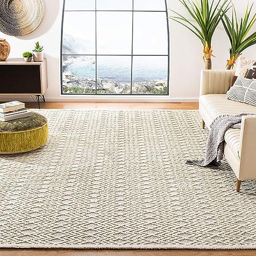 Safavieh Trace Collection TRC211F Handmade Wool Area Rug