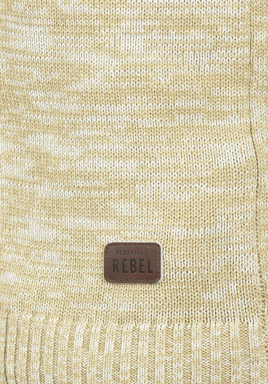 Redefined Rebel Miles Herren Strickjacke Cardigan Feinstrick mit V-Ausschnitt und Knopfleiste