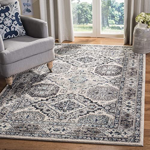 Safavieh Madison Collection MAD925F Oriental Boho Chic Distressed Non-Shedding Stain Resistant Living Room Bedroom Area Rug