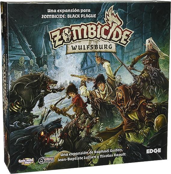 Edge Entertainment Zombicide - Wulfsburg, Juego de Mesa EDGBP002: Amazon.es: Juguetes y juegos