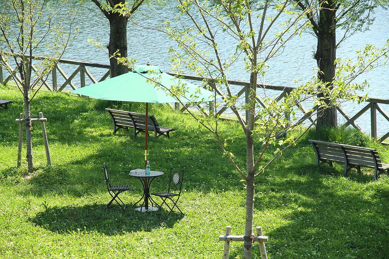 ガーデンパラソルの設置方法