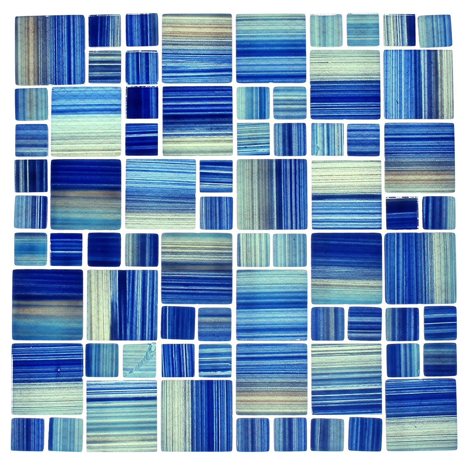 Amazon.com: WS Tiles: Swimming Pool Glass Mosaic Tile in ...