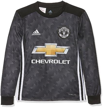 pretty nice a0480 4d9a1 Amazon.com : adidas Manchester United Kids Long-Sleeve Away ...
