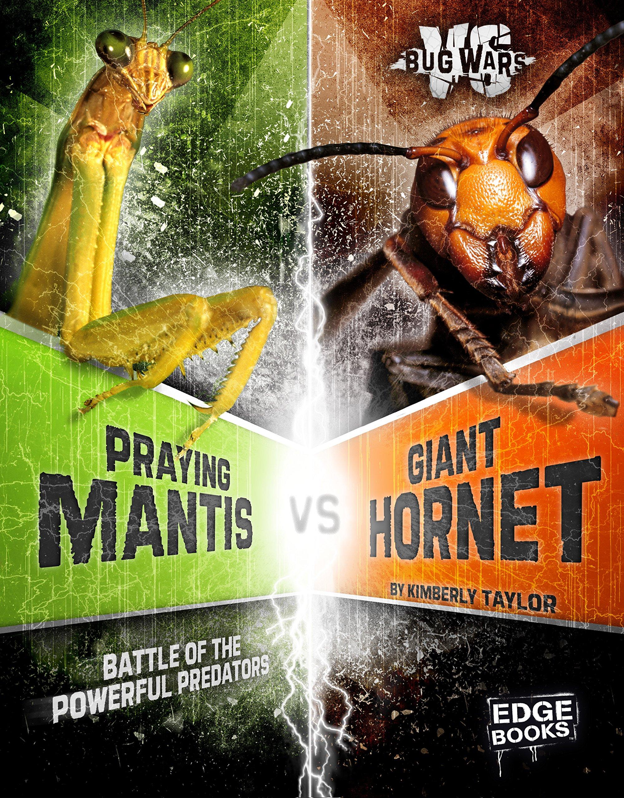 Download Praying Mantis vs. Giant Hornet: Battle of the Powerful Predators (Bug Wars) pdf