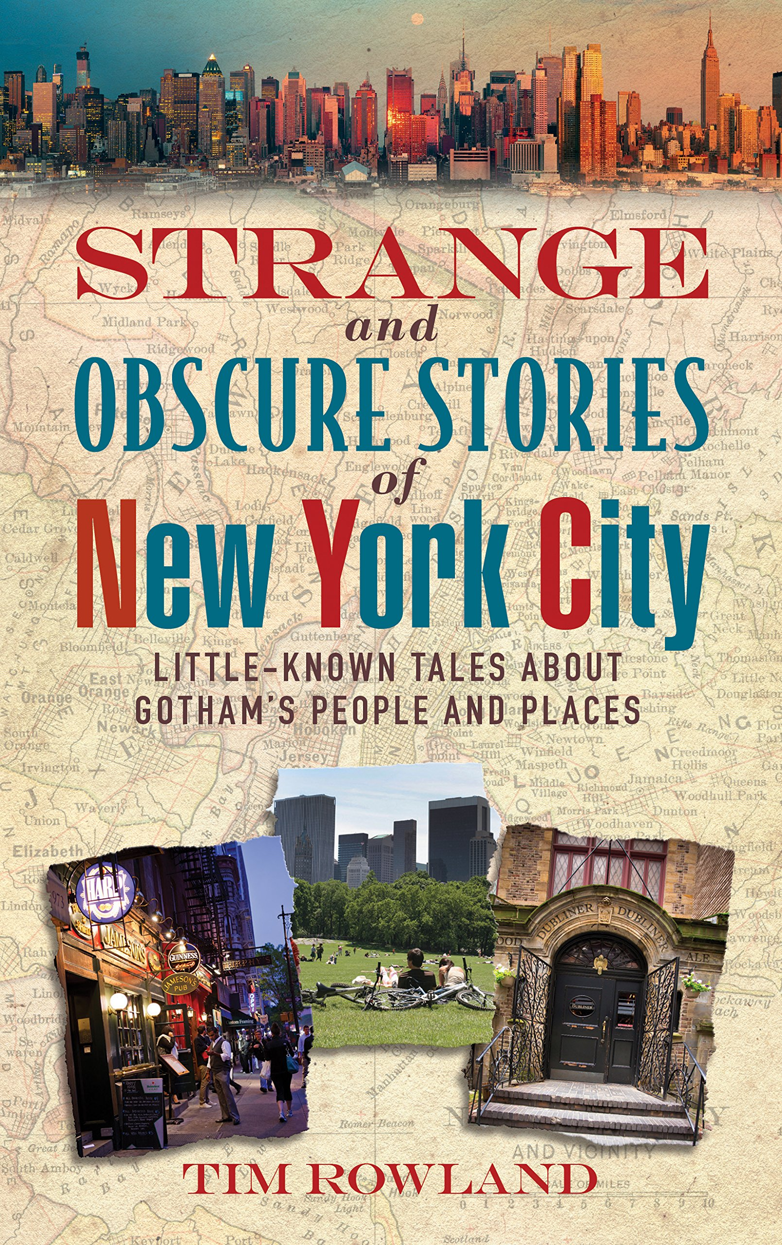 Read Online Strange and Obscure Stories of New York City: Little-Known Tales About Gotham's People and Places pdf