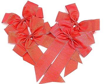 16 mm weiß Organzaschleife Schleifenband Geschenkschleifen Schleifen 5 Stk