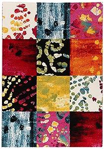 ABC Gioia Tappeto arredo Moderno, Multicolore, 160x230 cm