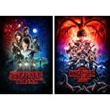 Amazon Price History for:Stranger Things Set of Season 1 and Season 2 Posters Glossy 24x36