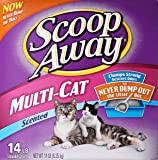 Scoop Away Multi-Cat, Scented Litter - 14 lb