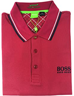 c4ec6b8cb Hugo Boss Mens Paddy Moisture Manager Pro Edition Polo Shirt 50249000