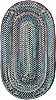 product image for Capel Kill Devil Hill Blue Multi Rug Rug Size: Oval 5' x 8'